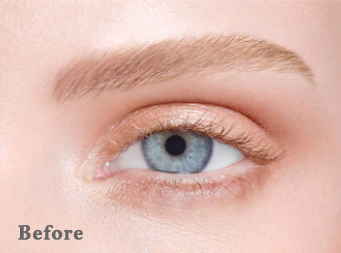 lvl lashes before